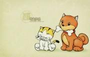 生肖狗卡通 KittenDream 奇童梦乐2009年卡通壁纸 插画壁纸
