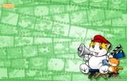 奇童梦乐卡通 KittenDream 奇童梦乐2009年卡通壁纸 插画壁纸
