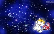 天蝎座卡通 KittenDream 奇童梦乐2009年卡通壁纸 插画壁纸