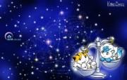 天枰座卡通 KittenDream 奇童梦乐2009年卡通壁纸 插画壁纸