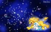 狮子座卡通 KittenDream 奇童梦乐2009年卡通壁纸 插画壁纸