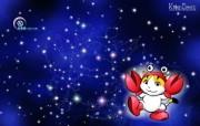 巨蟹座卡通 KittenDream 奇童梦乐2009年卡通壁纸 插画壁纸