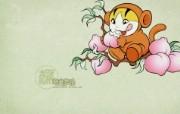 生肖猴卡通 KittenDream 奇童梦乐2009年卡通壁纸 插画壁纸