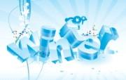蓝色冬季 冬季雪花矢量背景 蓝色冬季矢量背景图片壁纸 1920 1600 蓝色冬季冬季雪花矢量背景 插画壁纸