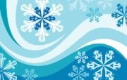 蓝色冬季 冬季雪花矢量背景 雪花 蓝色调冬季主题背景图片 1920 1600 蓝色冬季冬季雪花矢量背景 插画壁纸