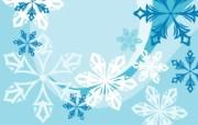 蓝色冬季 冬季雪花矢量背景 抽象雪花图案 冬季主题矢量图 1920 1600 蓝色冬季冬季雪花矢量背景 插画壁纸