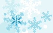 蓝色冬季 冬季雪花矢量背景 矢量雪花图案 冬季背景图片 1920 1600 蓝色冬季冬季雪花矢量背景 插画壁纸