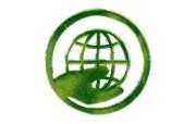 地球生态 草地组成的绿色环保标志图片 1920 1200 绿色和平环保标志循环利用 插画壁纸