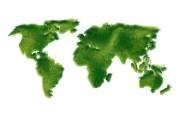 世界地图 循环利用标志图片 1920 1200 绿色和平环保标志循环利用 插画壁纸