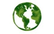 绿色地球 绿色和平环保标志 1920 1200 绿色和平环保标志循环利用 插画壁纸