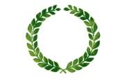 稻穗麦穗标志 绿色和平环保标志 1920 1200 绿色和平环保标志循环利用 插画壁纸