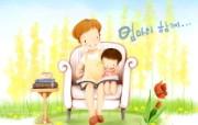 母亲节主题 可爱韩国插画壁纸 母亲节插画 母亲节韩国插画壁纸 母亲节主题韩国插画壁纸 插画壁纸