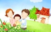 母亲节主题 可爱韩国插画壁纸 母亲节插画 母亲节卡通插画壁纸 母亲节主题韩国插画壁纸 插画壁纸