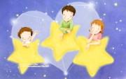 母亲节主题 可爱韩国插画壁纸 温馨家庭图片 温馨韩国插画壁纸 母亲节主题韩国插画壁纸 插画壁纸