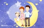 母亲节主题 可爱韩国插画壁纸 温馨家庭插画 可爱韩国插画壁纸 母亲节主题韩国插画壁纸 插画壁纸