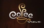 咖啡Logo CG视觉设计壁纸 1920 1200 Nucu Paslaru 潮流CG视觉设计 插画壁纸