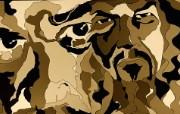 面孔 CG概念设计壁纸 1920 1200 Nucu Paslaru 潮流CG视觉设计 插画壁纸