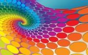 色彩图案 CG视觉设计壁纸 1920 1200 Nucu Paslaru 潮流CG视觉设计 插画壁纸