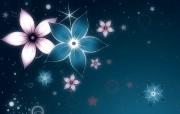 花卉背景视觉设计壁纸 1920 1200 Nucu Paslaru 潮流CG视觉设计 插画壁纸