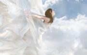 Edge Of Heaven 奇幻女性插画壁纸 女性主题幻想PS壁纸 插画壁纸