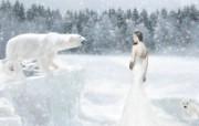 Arctic Queen 奇幻女性PS壁纸 女性主题幻想PS壁纸 插画壁纸