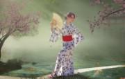 Geisha Dream 女性主题PS壁纸 女性主题幻想PS壁纸 插画壁纸