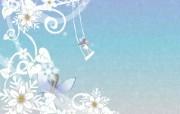 1920 1440 Painter 插画 童话冬天卡通壁纸 Painter 水彩风格童话冬天插画壁纸 插画壁纸