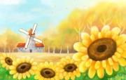 Painter 水彩风格童话秋天插画壁纸 插画壁纸