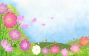 1920 1440 Painter 插画 童话秋天插画壁纸 Painter 水彩风格童话秋天插画壁纸 插画壁纸