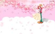 韩国插画名家系列 parang插画壁纸 拥抱情人 可爱情侣插画壁纸 Parang 韩国插画壁纸 插画壁纸