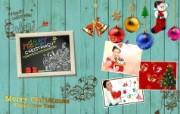 Photoshop 创意设计 缤纷圣诞节图片 Photoshop 创意缤纷办公生活主题 插画壁纸