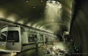 创意无限 Platinum 创意设计壁纸 1680x1050 地铁意外 平面创意广告设计图片 Platinum 创意广告设计一 插画壁纸