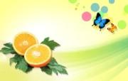 PSD清新蔬果蔬果PS设计壁纸 插画壁纸
