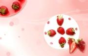 草莓 PS水果图片 PSD清新蔬果蔬果PS设计壁纸 插画壁纸