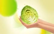 蔬菜 PSD设计壁纸 PSD清新蔬果蔬果PS设计壁纸 插画壁纸