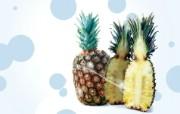 菠萝 PS水果图片 PSD清新蔬果蔬果PS设计壁纸 插画壁纸