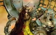 Queen of the Eternity 新加波插画家Hong Kuang CG插画壁纸 1920x1200 奇幻女性CG插画优秀CG插画大师作品第五辑 插画壁纸