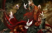 Blood and Dark 中国风奇幻女性插画 1920 1200 奇幻女性插画优秀插画大师作品欣赏第七辑 插画壁纸