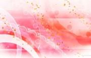 日本风格色彩与图案设计壁纸 甜美浪漫 日本风格色彩图案 日本风格色彩设计 插画壁纸
