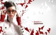 流行设计元素 Julia Pogodina 红色时尚 流行设计元素壁纸 Seventh Street 创意设计壁纸 插画壁纸