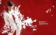 流行设计元素 Julia Pogodina 红色时尚 时尚人物CG设计壁纸 Seventh Street 创意设计壁纸 插画壁纸