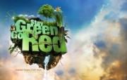 流行设计元素 Stay Green Go Red 个性创意设计壁纸 Seventh Street 创意设计壁纸 插画壁纸