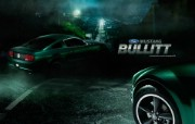 流行设计元素 福特野马跑车 Mustang Bullitt 创意设计壁纸 Seventh Street 创意设计壁纸 插画壁纸