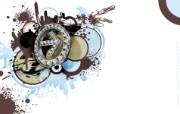 流行设计元素 hip hop Arrow 个性创意设计壁纸 Seventh Street 创意设计壁纸 插画壁纸