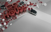 流行设计元素 Smart Car 创意CG设计壁纸 Seventh Street 创意设计壁纸 插画壁纸