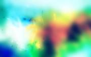 视觉印象 多色系抽象色彩视觉效果 绿色 抽象视觉颜色壁纸 视觉印象多色系抽象色彩壁纸 插画壁纸