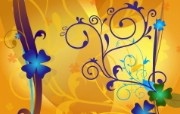 矢量植物花纹背景壁纸 时尚花纹图案背景图片 1920 1200 时尚植物花纹背景壁纸 插画壁纸