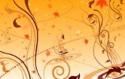 矢量植物花纹背景壁纸 矢量植物花纹图案 1920 1200 时尚植物花纹背景壁纸 插画壁纸