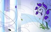 矢量植物花纹背景壁纸 欧式花纹图案设计 1920 1200 时尚植物花纹背景壁纸 插画壁纸