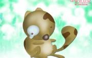台湾卡通壁纸 个性动物 台湾卡通动物壁纸 Desktop wallpaper of Cartoon Animal 台湾卡通壁纸个性动物 插画壁纸